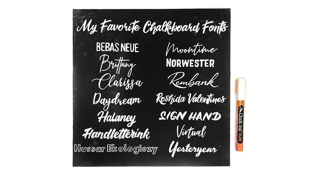 139 free chalkboard fonts